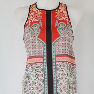 Clover Canyon Red/Multicolored Tank Size Small